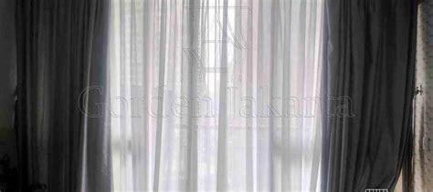 Jendela Polos vitrage gorden polos percantik jendela apartemen taman