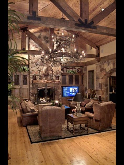 country rustic living room furniture country style living