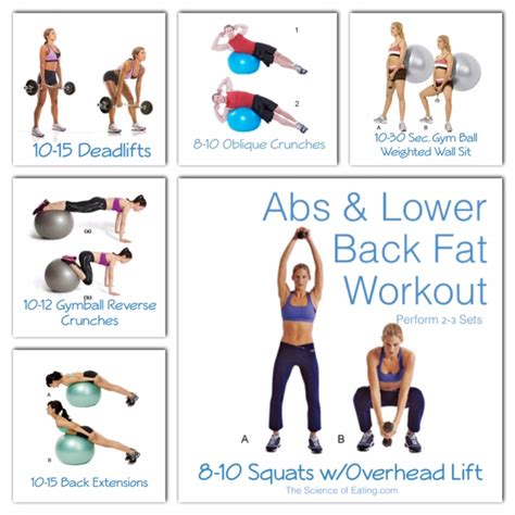 abs lower back workout the science of