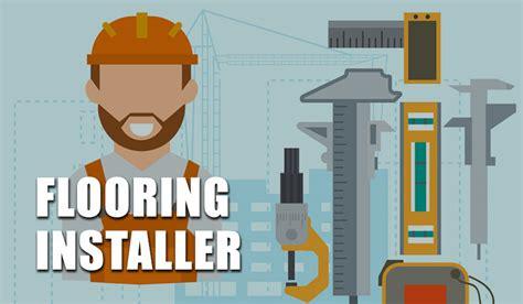 flooring installer job description salary requirements