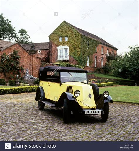 vintage renault cars vintage cars 1926 renault tourer stock photo