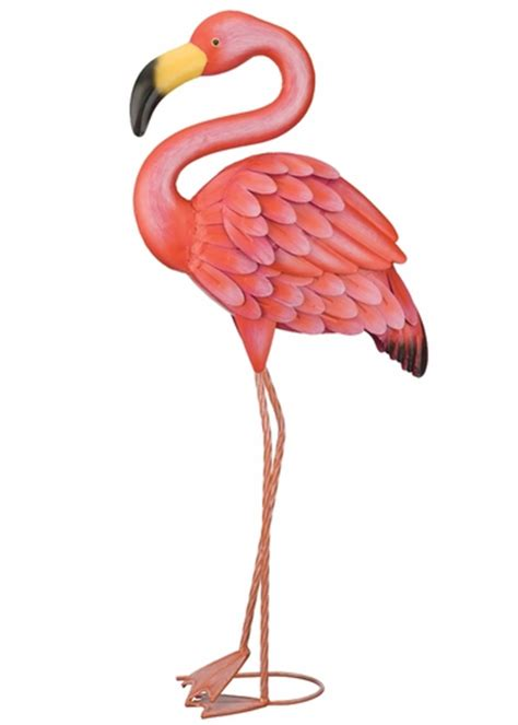 Hand Painted Home Decor Pink Flamingo Decor Only 58 99 At Garden Fun