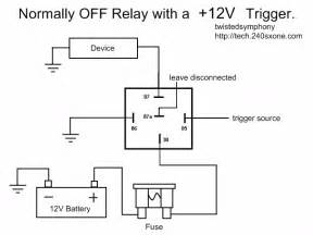 240sxone tech 187 archive 187 relay wiring basics