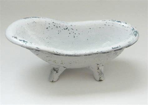 claw foot tub soap dish bath decor spa business card