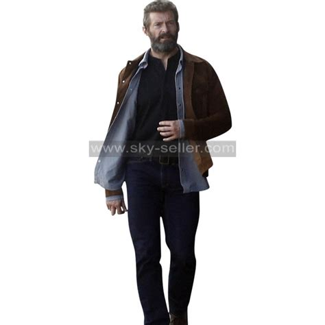 Jaket Wolverine Brown logan wolverine 3 hugh jackman brown jacket