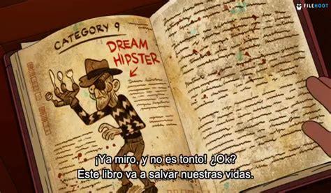 cara membuat journal gravity falls gravity falls diarios libro 1 2y3 geek pinterest