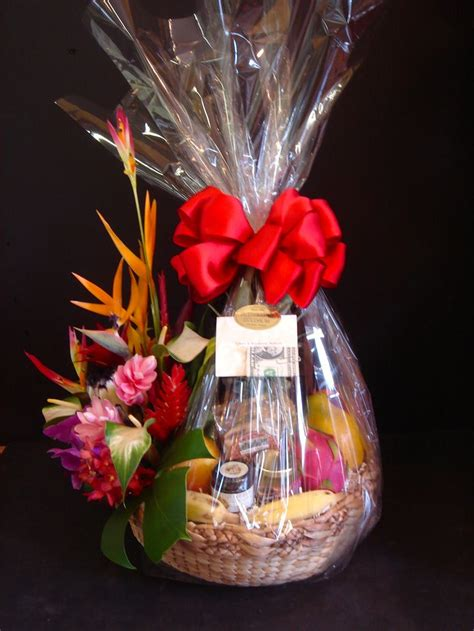 hawaiian gift baskets exquisite basket expressions images  pinterest gift basket