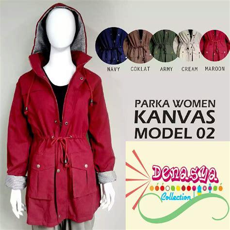 Jaket Parka Wanita Variant Warna 1 jual jaket parka kanvas model 2 hoodie bisa dilepas