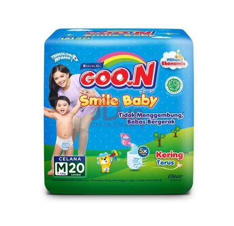 Goo N Smile Baby Xl 20 jual goon smile baby popok m 20 jd id