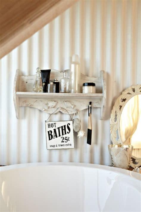 Rustikales Badezimmer by Rustikales Badezimmer Romantisch Gestalten