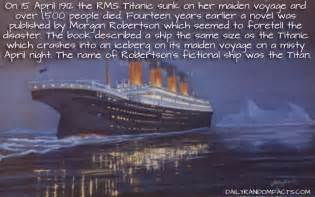 Facts About The Titanic Sinking titanic hits iceberg and sinks fact