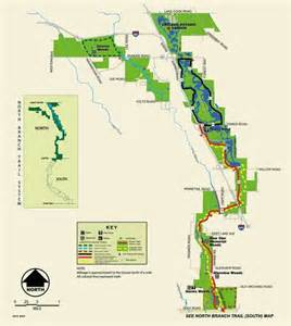 Chicago Bike Trail Map by North Branch Trail System Maplets