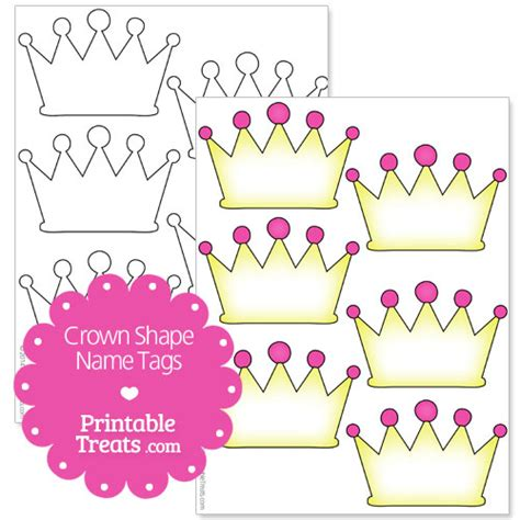 printable christmas crown free printable crown name tags b days pinterest free