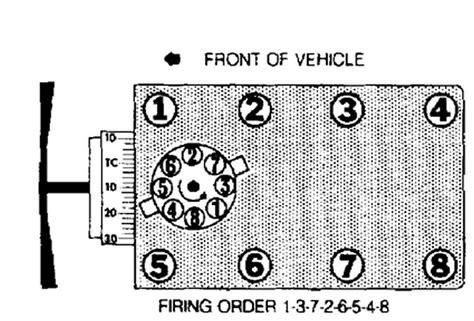 Ford Firing Order by Ford Windstar 3 8 Engine Firing Order Diagram Ford Free