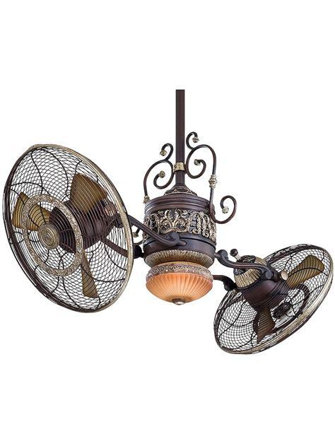 gyro twin ceiling fan antique hardware ceiling fan traditional gyro twin