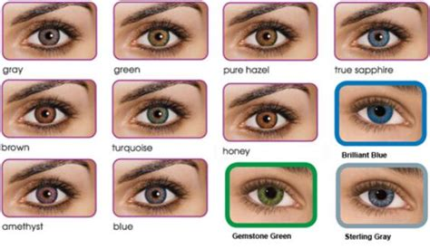 fresh look color blend contacts fresh look colorblend cosmetic color contact lenses