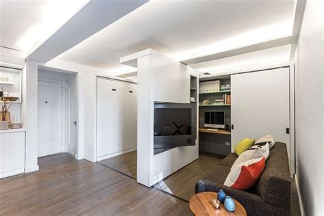 movable walls for apartments 37 square meters apartment with moving wall design small