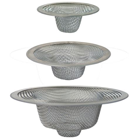 bathroom sink strainer basket shop brasscraft kitchen sink strainer basket at lowes