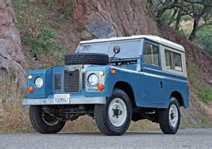 hemmings find of the day 1971 land rover series ii