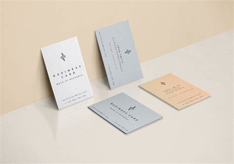 realistic card psd mockup template 20 free business card psd mockups dev resources