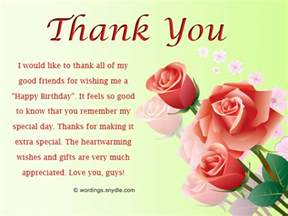 Thank You Letter Friend For Birthday Gift Hindi thank you messages sms for the birthday wishes and cards