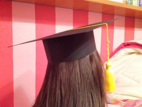 como hacer gorros de graduacion como se hace un birrete o gorro de graduaci 243 n para ni 241 os