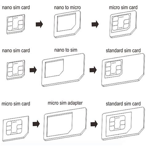 how to convert sim card to micro sim template noosy nano standard micro sim card adapter converter for
