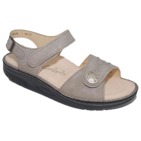 Finn Comfort Sausalito by Womens Finn Comfort Sausalito Rock Leather Soft Footbed