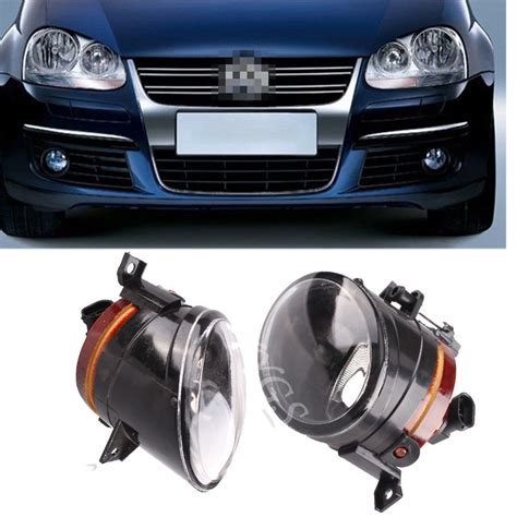 led lights automotive parts auto parts 2x car front bumper driving fog light for vw