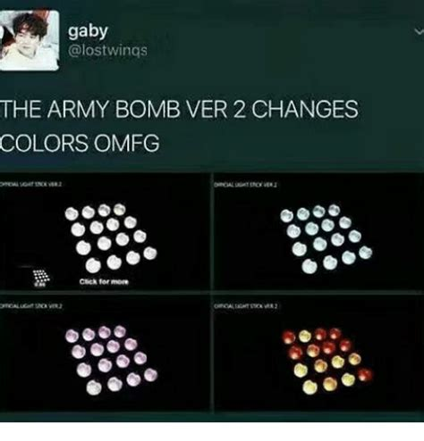 Army Bomb Ver 2 gaby wings the army bomb ver 2 changes colors omfg click