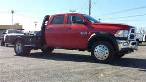 Dodge 4500 Flatbed Find New New 2014 Ram 4500 Crew Cab 4x4 With 9ft Skirted