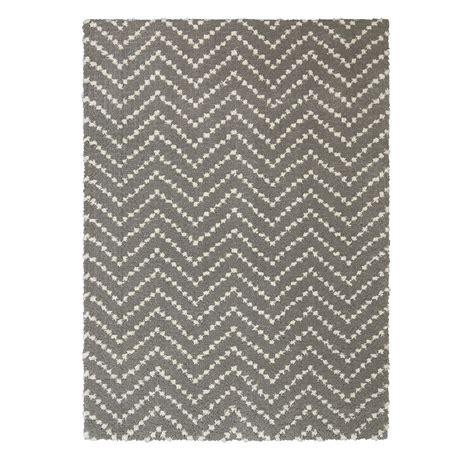 chevron shag rug garland rug sparta 5 ft x 7 ft area rug cl 10 ra 0057 01 the home depot