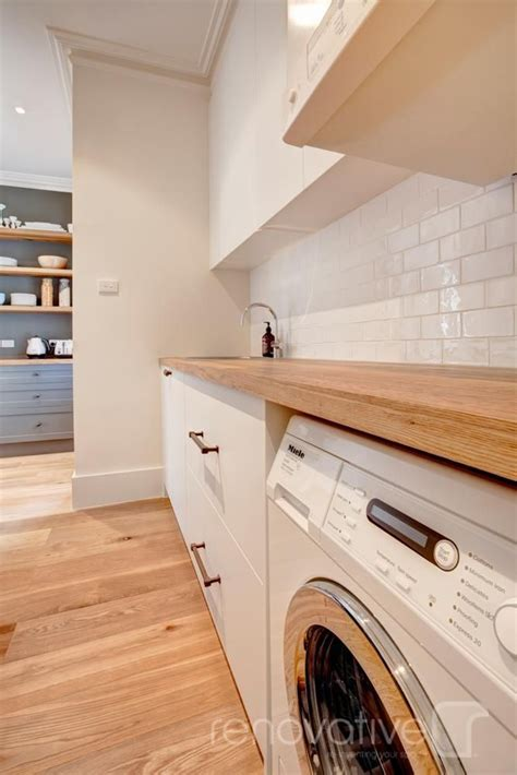 image result for wooden benchtop in laundry future home apartment pinterest