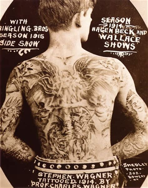 tattoo history circus tattoo images history of tattoos