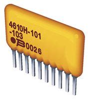 150 ohm resistor network 4608x 101 151lf bourns resistor bussed resistor network 7 150 ohm 0 02 sip farnell es