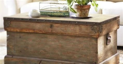 furniture that looks like pottery barn pottery barn trunk look a like and other great wood