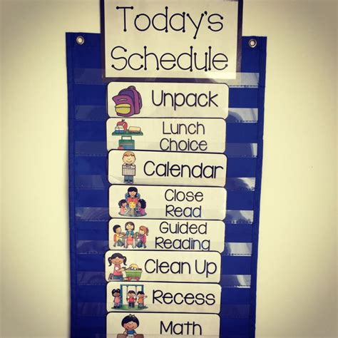classroom cards 25 best images about daily schedules on visual