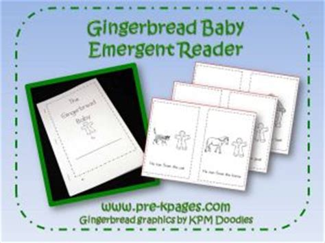 gingerbread man easy reader printable gingerbread man theme activities for preschool