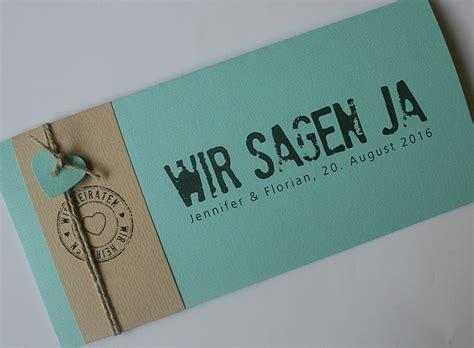 Einladungskarten Hochzeit Mint by Kirchenhefte Hochzeit Aylando Hochzeitskarten
