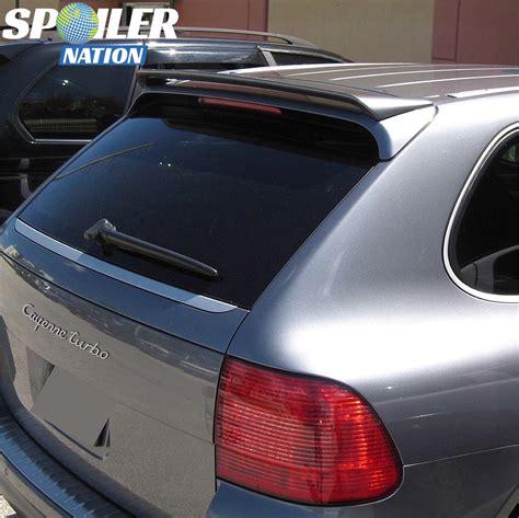Porsche Cayenne Spoiler by 2003 2006 Porsche Cayenne Sport Style Rear Roof Wing Spoiler