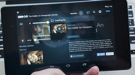 hbo go android tv hbo go android app updated with chromecast support android central