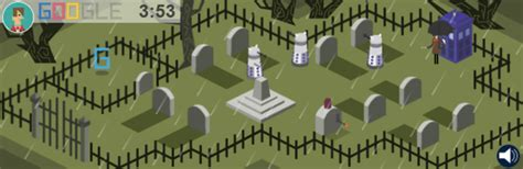 play doodle 2013 celebrates the 50th anniversary of doctor who