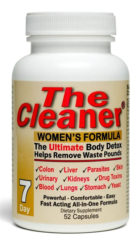 The Ultimate Cleanse Detox by The Cleaner S Formula 7 Day Ultimate Detox