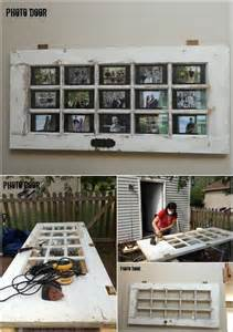 Decorating Ideas Using Doors This Door Photo Frame And Coat Hanger Is Just Ideal