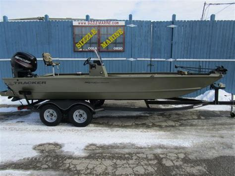 grizzly boats for sale in ohio tracker grizzly 2072 mvx sportsman boats for sale in