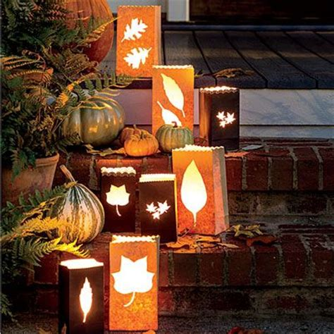 southern living fall decorating ideas fall decorating paper bags and southern living on