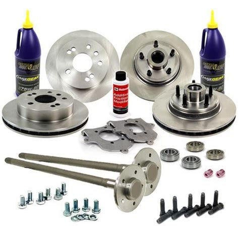 mustang cobra 5 lug conversion kit 31 spline axles 1993