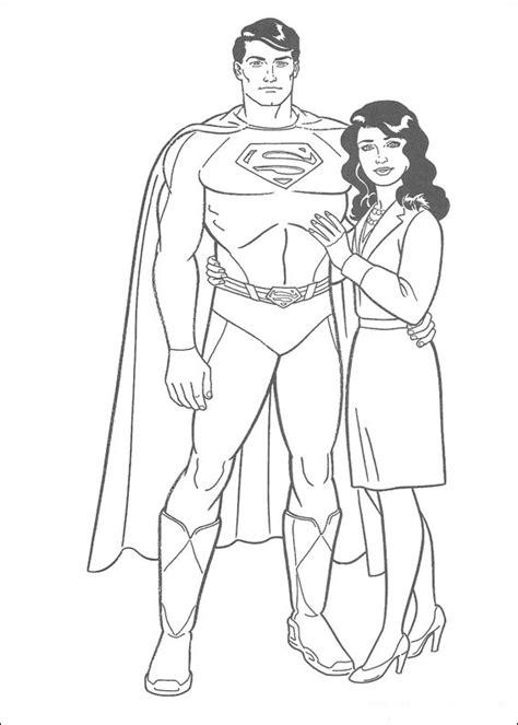 imagenes increibles de superman dibujos de superman para colorear pintar e imprimir gratis