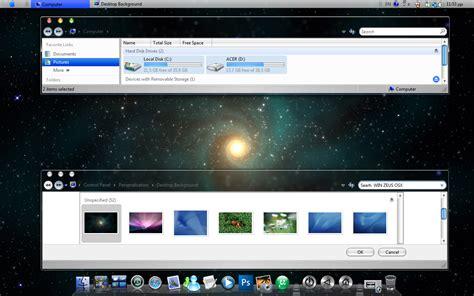 theme editor mac osx win zeus osx mac style theme for vista