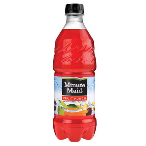 fruit 20 where to buy minute fruit punch flavored fruit drink 20 oz bottles